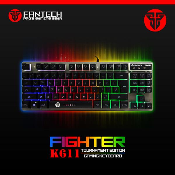 Fantech Keyboard Gaming K611 Fighter TKL