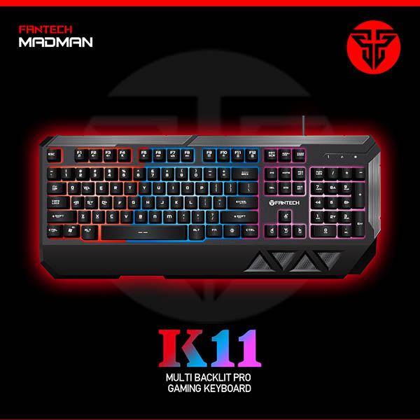 Fantech Keyboard Gaming K11 Madman