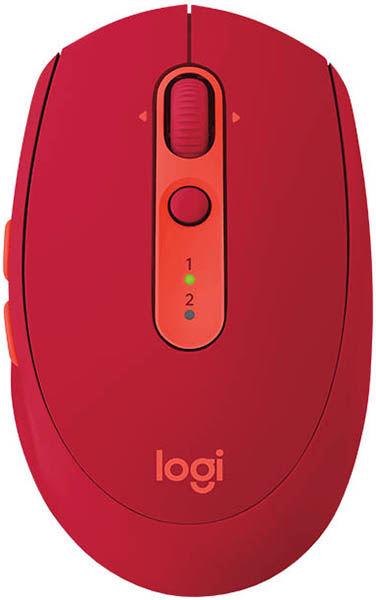 Logitech Mouse M590 Wireless Multi-Device Silent Ruby