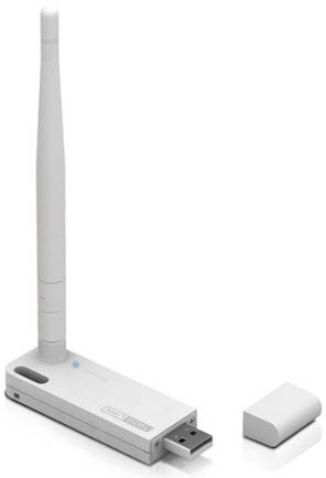 (150Mbps Wireless N USB Adapter, 4dBi detachable antenna, WPS button) ...
